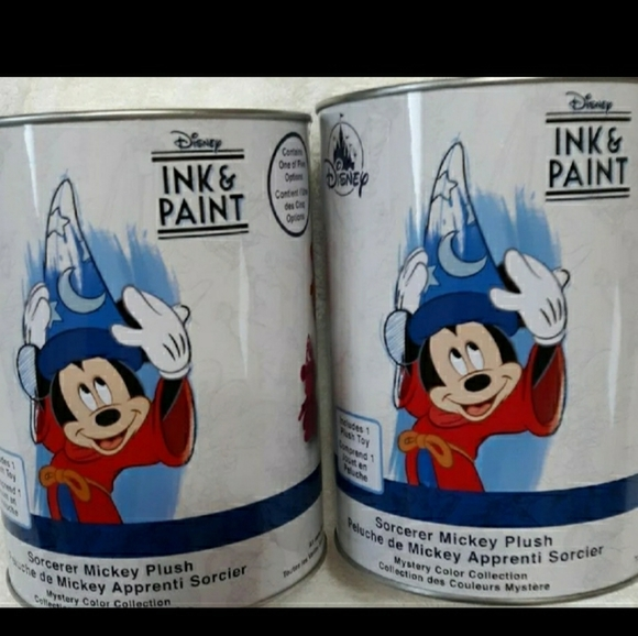 Disney Ink & Paint Collector Paint Cans